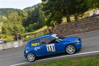Baldin Davide ( Michael Racing, Renault Clio #111), CAMPIONATO ITALIANO VELOCITÀ MONTAGNA