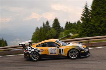 Harmin Hafner (Scuderia Mendola, Porsche 911 GT3, CAMPIONATO ITALIANO VELOCITÀ MONTAGNA