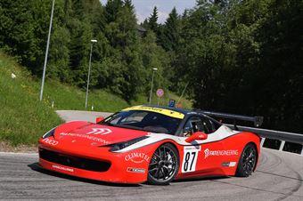 Artuso Stefano (Superchallenge, Ferrari 458 EVO #87), CAMPIONATO ITALIANO VELOCITÀ MONTAGNA