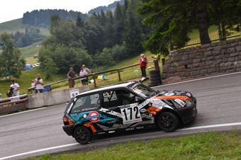 Giacomuzzi Sergio (Mendola, Rover Metro GTI #172), CAMPIONATO ITALIANO VELOCITÀ MONTAGNA