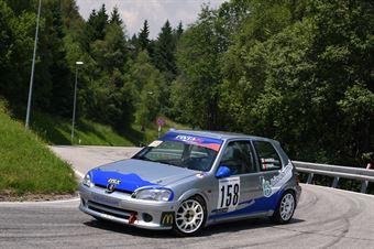 Andrea Briani ( Pintarally Motorsport, Peugeot 106 #158), CAMPIONATO ITALIANO VELOCITÀ MONTAGNA