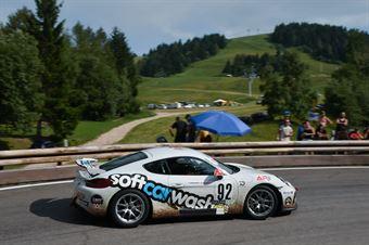 Nassimbeni Fabio (Porsche Cayman GT4 #92), CAMPIONATO ITALIANO VELOCITÀ MONTAGNA