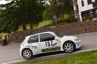 Fait Franco ( Peugeot 106 Maxi, Julli Racing #157), CAMPIONATO ITALIANO VELOCITÀ MONTAGNA