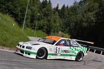 Pavel KOTEK (Amk Ecce Homo Sternberk, BMW M3 #51), CAMPIONATO ITALIANO VELOCITÀ MONTAGNA