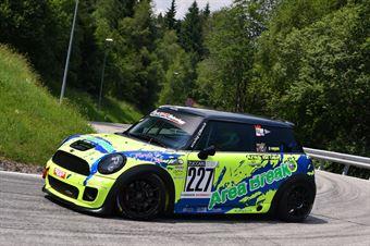 Liuzzi Giacomo (Fasano Corse, BMW Mini Cooper JCW #227), CAMPIONATO ITALIANO VELOCITÀ MONTAGNA