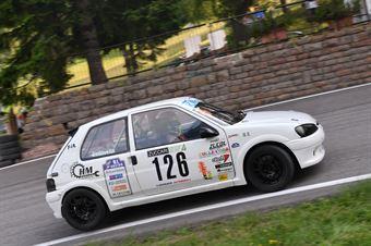 Vedovello Riccardo (BL Racing, Peugeot 106 #126), CAMPIONATO ITALIANO VELOCITÀ MONTAGNA