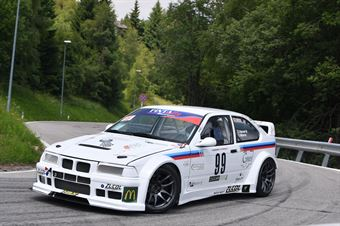 Zucol Nicola (Pintarally Motorsport, BMW 318 M #99), CAMPIONATO ITALIANO VELOCITÀ MONTAGNA