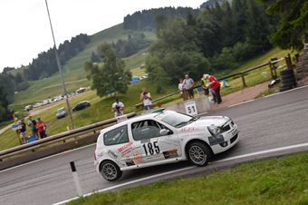 Carbonari Daniele ( Renault Clio, Destra 4 #185), CAMPIONATO ITALIANO VELOCITÀ MONTAGNA