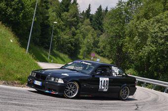 Kevin Lechner (Venosta, BMW M3 #148), CAMPIONATO ITALIANO VELOCITÀ MONTAGNA