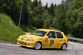 Vettorel Fabrizio (BL Racing, Peugeot 106 Rally #188), CAMPIONATO ITALIANO VELOCITÀ MONTAGNA