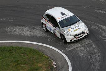 Moser Thomas ( Pintarally Motorsport, Peugeot 208 Vti #145), CAMPIONATO ITALIANO VELOCITÀ MONTAGNA