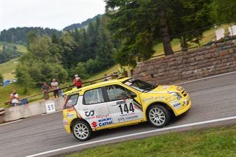Pelle' Roberto ( Destra 4, Suzuki Ignis #144), CAMPIONATO ITALIANO VELOCITÀ MONTAGNA