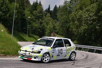 Armeni Alessio ( Peugeot Peugeot 106 #143), CAMPIONATO ITALIANO VELOCITÀ MONTAGNA
