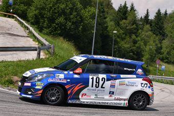 Pagano Massimo ( Destra 4, Suzuki Swift Sport #192), CAMPIONATO ITALIANO VELOCITÀ MONTAGNA