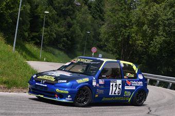 Oddo Antonino (Racing for Genova, Peugeot 106 #125), CAMPIONATO ITALIANO VELOCITÀ MONTAGNA