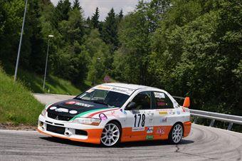 Pedroni Gabriella (Mitsubishi Evo Ix #178), CAMPIONATO ITALIANO VELOCITÀ MONTAGNA