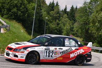 Vavrinec Thomas ( AMG Racing, Mitsubishi Lancer Evo 9 #182), CAMPIONATO ITALIANO VELOCITÀ MONTAGNA
