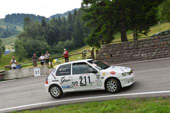 Cristoforetti Andrea ( Peugeot 106 Gti S16 16V, Destra 4 #211), CAMPIONATO ITALIANO VELOCITÀ MONTAGNA