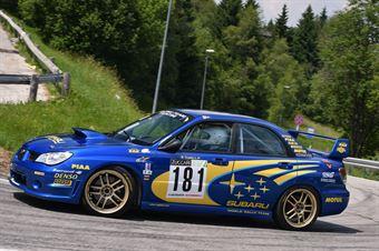 Trentini Alessandro ( Piloti Senesi, Subaru Impresa #181), CAMPIONATO ITALIANO VELOCITÀ MONTAGNA