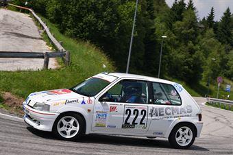 Grobberio Jacopo (HRT Corse, Peugeot 106 #222), CAMPIONATO ITALIANO VELOCITÀ MONTAGNA