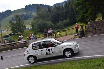 Ratschiller Robert ( Peugeot 205 Rallye, Racing team Meran #221), CAMPIONATO ITALIANO VELOCITÀ MONTAGNA