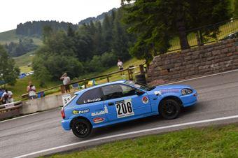 Bicciato Lukas ( Mendola, Honda Civic V Tec #206), CAMPIONATO ITALIANO VELOCITÀ MONTAGNA