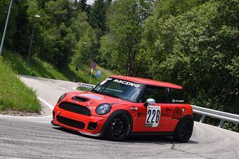 Vito Tagliente (SCS Motorsport, Mini Cooper JCW #226), CAMPIONATO ITALIANO VELOCITÀ MONTAGNA