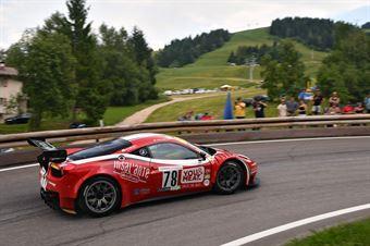Luca Gaetani ( Vimotorsport, FERRARI 458 GT3 #78), CAMPIONATO ITALIANO VELOCITÀ MONTAGNA