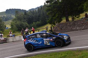 Tiziano Nones ( RB Motorsport, Fors Fiesta  RS WRC #129), CAMPIONATO ITALIANO VELOCITÀ MONTAGNA