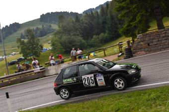 Accorsi Lorenzo ( Peugeot 106 Rallye, BL Racing #205), CAMPIONATO ITALIANO VELOCITÀ MONTAGNA