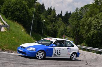 Consolati Valerio ( Honda Civic Type R, BL Racing #212), CAMPIONATO ITALIANO VELOCITÀ MONTAGNA