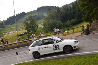 CAMERA Stefano ( Pintarally motorsport, Opel Astra GSI 16 v #203), CAMPIONATO ITALIANO VELOCITÀ MONTAGNA