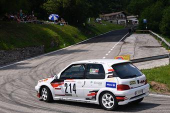 MORELLI Stefano ( Pintarally Motorsport, Peugeot 106 # 214), CAMPIONATO ITALIANO VELOCITÀ MONTAGNA