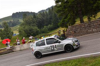 Scoz Andrea ( Renault clio, Pintaraly Motorsport #204), CAMPIONATO ITALIANO VELOCITÀ MONTAGNA
