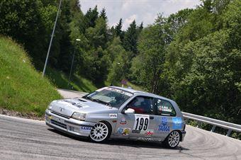 Wagrowski Remigiusz ( Renault Clio, Destra 4 #199), CAMPIONATO ITALIANO VELOCITÀ MONTAGNA