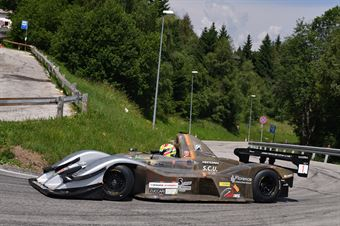 Michele Fattorini (Speed Motor, Osella FA 30 Zytek #1), CAMPIONATO ITALIANO VELOCITÀ MONTAGNA