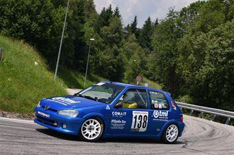 Titi Fabio (Koala Racing, Peugeot 106 #138), CAMPIONATO ITALIANO VELOCITÀ MONTAGNA