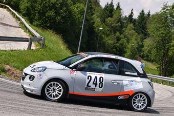 Grazioli Nicola ( Opel Adam #248), CAMPIONATO ITALIANO VELOCITÀ MONTAGNA