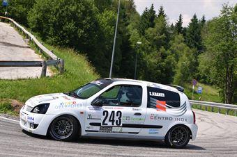 Kraner Stefan (Destra 4, Renault Clio RS Cup #243), CAMPIONATO ITALIANO VELOCITÀ MONTAGNA