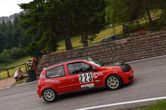 Pradegan Mattia ( Renault Clio, Micheal Racing #223), CAMPIONATO ITALIANO VELOCITÀ MONTAGNA