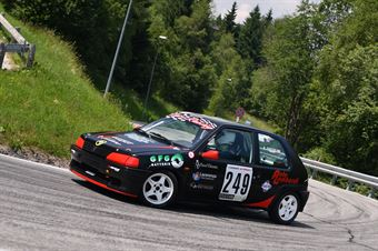 Cuccioloni Giovanni (Gs Ac Ascoli Piceno, Peugeot 106 #249), CAMPIONATO ITALIANO VELOCITÀ MONTAGNA