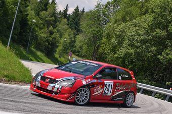Pilotto Adriano (VimotorSport, Honda Civic Type R #241), CAMPIONATO ITALIANO VELOCITÀ MONTAGNA