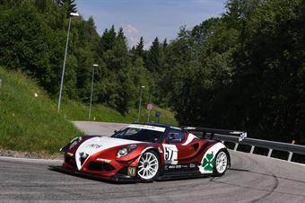 Marco Gramenzi (AB Motorsport, MG AR 4C #57), CAMPIONATO ITALIANO VELOCITÀ MONTAGNA