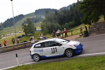 Luca Zuurbier (Honda civic Type R #133), CAMPIONATO ITALIANO VELOCITÀ MONTAGNA