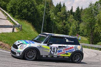 Ducoli Federico ( Mini Mini John Cooper Works, AMG Racing #247), CAMPIONATO ITALIANO VELOCITÀ MONTAGNA
