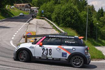 Pangrazzi Veronica ( Mini Jcw, Elite Motorsport #238), CAMPIONATO ITALIANO VELOCITÀ MONTAGNA
