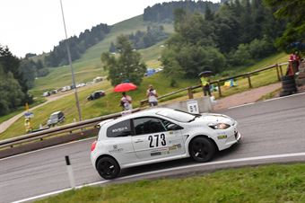 Fulvio Bolfelli (Micheal Racing, Renault Clio #273), CAMPIONATO ITALIANO VELOCITÀ MONTAGNA