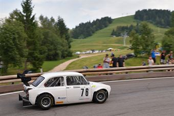 Stocker Werner (Alby Racing Team, Fiat 850 Special Kawasaki #76), CAMPIONATO ITALIANO VELOCITÀ MONTAGNA