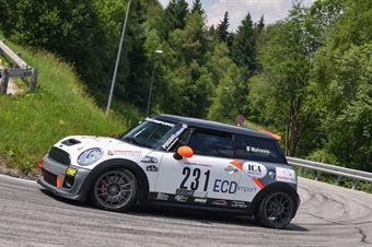 Roberto Malvasio (Winners Rally team, Mini Cooper JWC #231), CAMPIONATO ITALIANO VELOCITÀ MONTAGNA