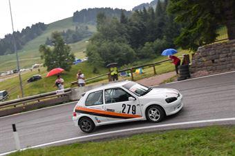 Alessandro Bondanza (Solferino Rally, Peugeot 106 #279), CAMPIONATO ITALIANO VELOCITÀ MONTAGNA